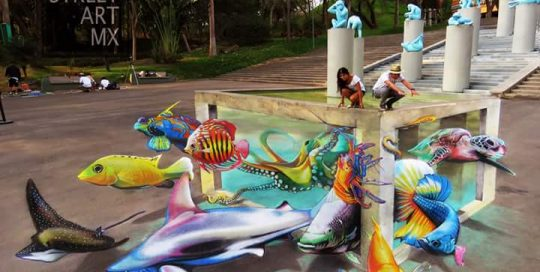 3d-streetpainting-3d-streetart-anamorphic-adry-del-rocio-carlosalberto-gh-colores-de-jalisco-festival-guadalajara-zoo-mexico-aquarium