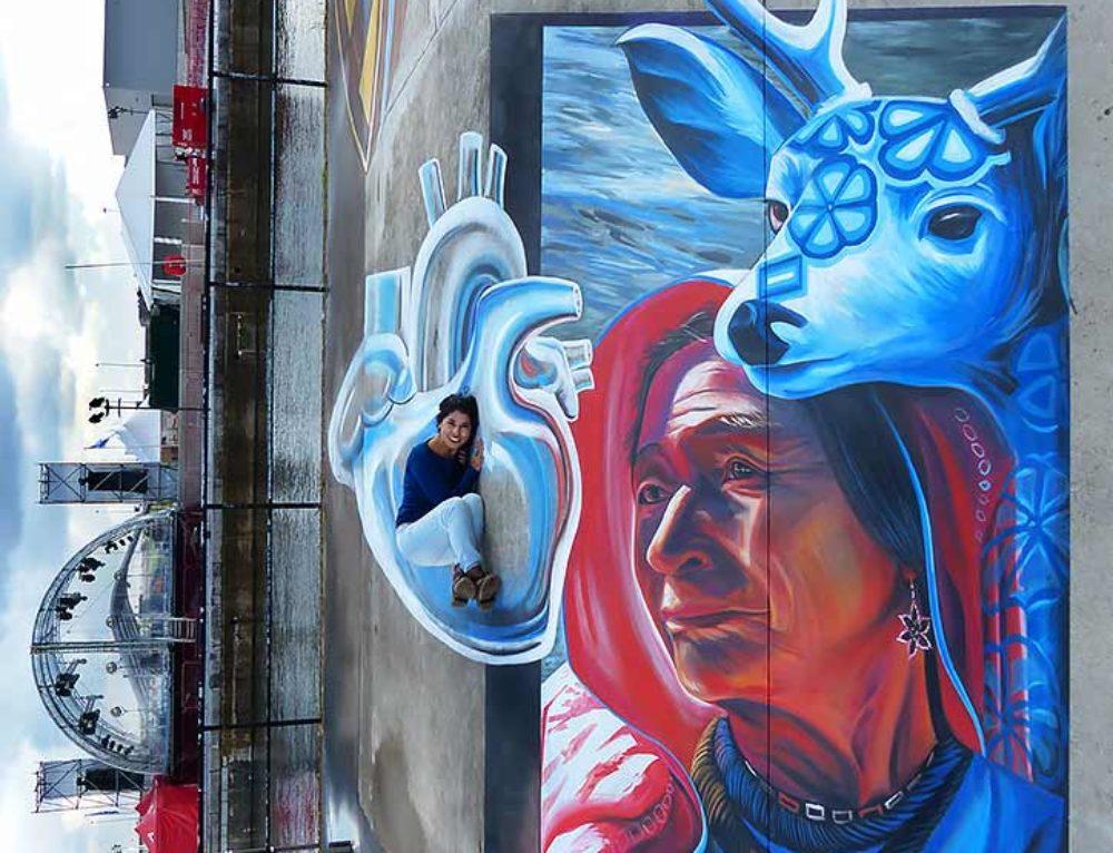 3D Streetpainting at Tizarte Festival, Antwerp, Belgium