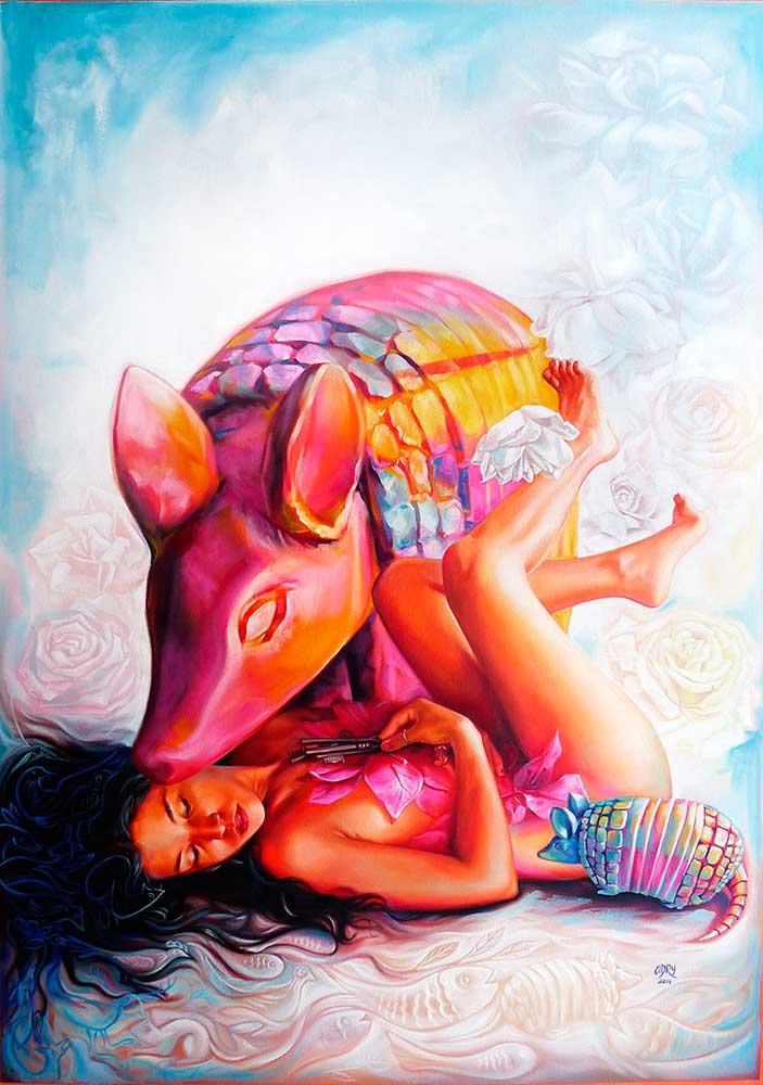 adry-del-rocio-artist-painter-artista-art-arte-oil-painting-pintura-al-oleo-bare-my-soul