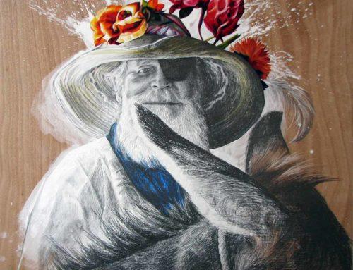 "Mixed Media Painting ""Irrepressible"""