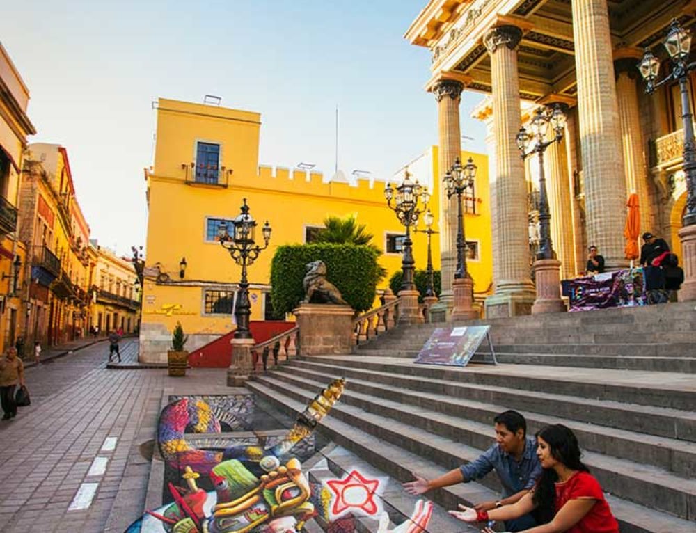 3D Streetpainting at Guanajuato Madonnari Festival 2018, Mexico