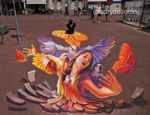 3D Streetpainting at World Street Painting Festival 2019