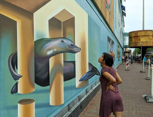 3D Mural for Den Helder City, NL