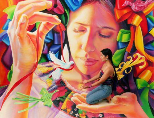 "3D Mural ""Mexicana"""