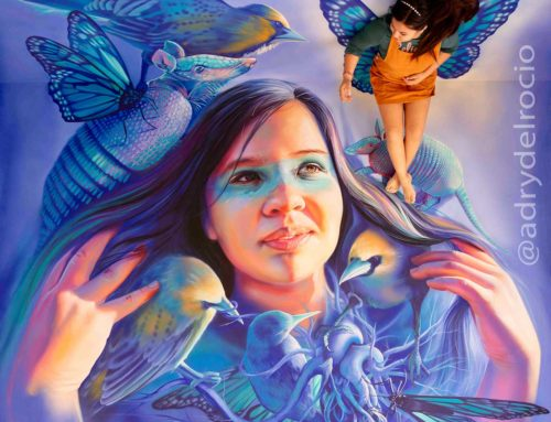 "3D Mural ""Nahuales"""